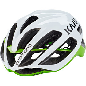 Kask Protone Casco, white/green